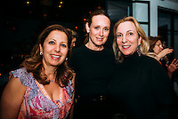 Karine Ohana, Noelle Wolf, and Susan Rockefeller at Ohana & Co Success for Progress Dinner on April 25, 2016 (Photo by Tiffany Chien/Guest Of A Guest)