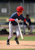March 22, 2010:  Naoya Washiya of the Washington Nationals organization during Spring Training at the Carl Barger Training Complex in Melbourne, FL.  Photo By Mike Janes/Four Seam Images