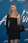 London, UK. 19 January 2016. Model and presenter Ashley James. Celebrities arrive on the red carpet for the London premiere of Amaluna, the latest show of Cirque du Soleil, at the Royal Albert Hall.