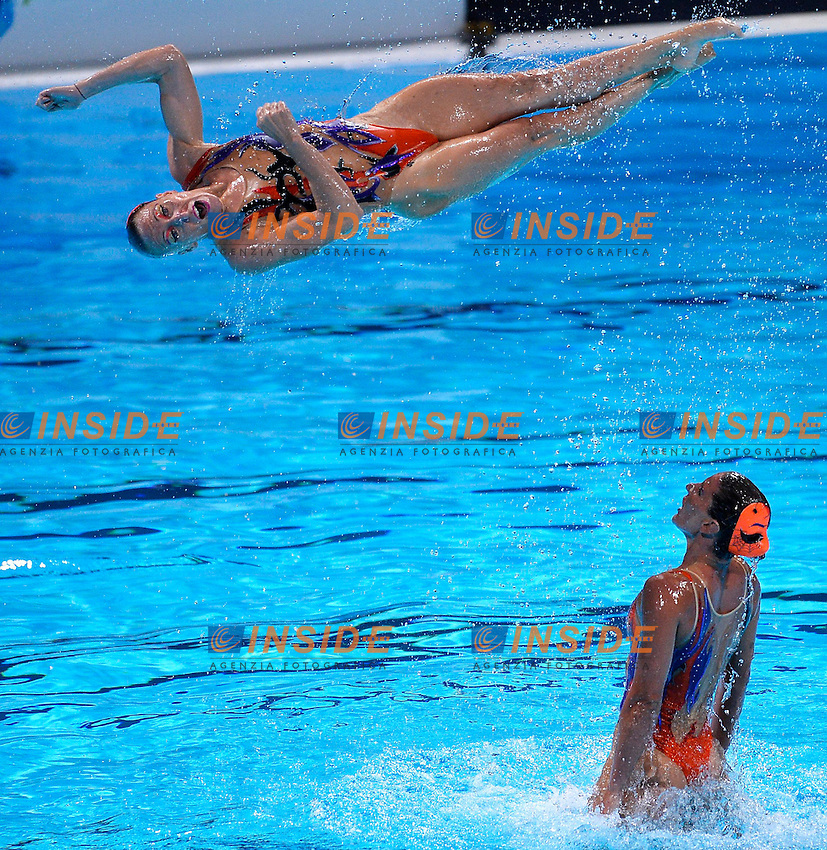 ITALIA <br /> Synchronized Swimming Team Equipe Nuoto Sincronizzato  <br /> Barcellona 26/7/2013 Palau St Jordi <br /> Barcelona 2013 15 Fina World Championships Aquatics <br /> Foto Andrea Staccioli Insidefoto