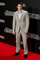 Callum Turner attends to Fantastic Beasts: The Crimes of Grindelwald film premiere during the Madrid Premiere Week at Kinepolis in Pozuelo de Alarcon, Spain. November 15, 2018. (ALTERPHOTOS/A. Perez Meca) /NortePhoto