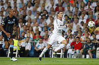 17.09.2012 SPAIN -  Champions League 12/13 Matchday 1th  match played between Real Madrid CF vs  Manchester City at Santiago Bernabeu stadium. The picture show Cristiano Ronaldo (Portuguese forward of Real Madrid)