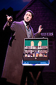 "Musical comedy Betty Blue Eyes, based on the feature film ""A Private Function"" showing at the Novello Theatre, London. Reece Shearsmith as ""Gilbert Chilvers""."