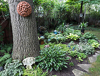 Janet Chalmers<br /> 1170 Sherwood Trail<br /> 519-332-5574                  <br /> janetmchalmers@yahoo.ca<br /> <br /> Description of my garden:<br /> <br /> .A tranquil shade garden under mature oak, maple and chestnut trees.    Features exotic planters, quirky accents and manicured beds. A cool, peaceful escape from a busy world.!
