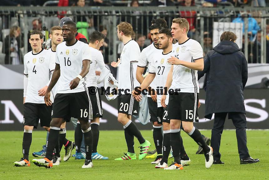 Siegesjubel Deutschland nach dem 4:1 - Deutschland vs. Italien, Allianz Arena München