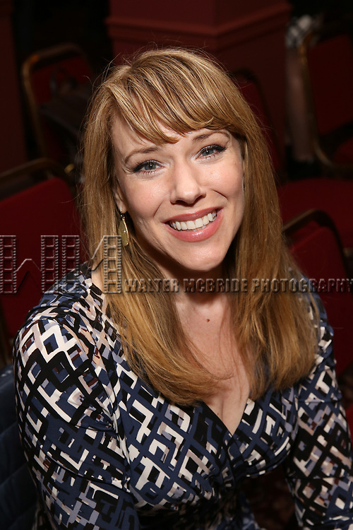 Emily Skinner attends the The Robert Whitehead Award presented to Mike Isaacson at Sardi's on May 10, 2017 in New York City.