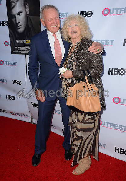 "11 July 2015 - West Hollywood, California - Tab Hunter, Connie Stevens. Arrivals for the 2015 Outfest Los Angeles LGBT Film Festival screening of ""Tab Hunter Confidential"" held at The DGA Theater. Photo Credit: Birdie Thompson/AdMedia"