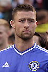 23 May 2013:  Gary Cahill (24)(ENG) of Chelsea.  Chelsea F.C. was defeated by Manchester City 3-4 at Busch Stadium in Saint Louis, Missouri, in a friendly exhibition soccer match.