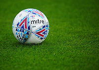 The official Mitre EFL match ball<br /> <br /> Photographer Kevin Barnes/CameraSport<br /> <br /> The Carabao Cup - Accrington Stanley v Preston North End - Tuesday 8th August 2017 - Crown Ground - Accrington<br />  <br /> World Copyright &copy; 2017 CameraSport. All rights reserved. 43 Linden Ave. Countesthorpe. Leicester. England. LE8 5PG - Tel: +44 (0) 116 277 4147 - admin@camerasport.com - www.camerasport.com