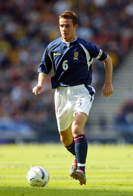 Barry Ferguson, Scotland.stock season 2003-04..pic willie vass