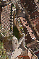 Europe/Europe/France/Midi-Pyrénées/46/Lot/Rocamadour: les toits du village