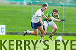 Tadhg Morley Kerry in action against Jack Savage IT Tralee in the McGrath cup at Austin Stack Park on Sunday.