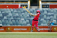 3rd November 2019; Western Australia Cricket Association Ground, Perth, Western Australia, Australia; Womens Big Bash League Cricket, Sydney Sixers verus Melbourne Stars; Alyssa Healy of the Sydney Sixers pulls the ball during her innings - Editorial Use