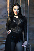 FORT LAUDERDALE FL - SEPTEMBER 26: Madame Mayhem poses during a photo session at Revolution Live on September 26, 2019 in Fort Lauderdale, Florida. : Credit Larry Marano © 2019