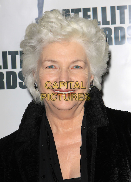 FIONNULA FLANAGAN.The International Press Academy's 14th Annual Satellite Awards held at The InterContinental Hotel, Century City, California, USA, 20th December 2009..portrait headshot fur smiling black .CAP/ADM/KB.©Kevan Brooks/Admedia/Capital Pictures