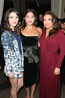 LOS ANGELES, CA - NOVEMBER 8: Denyse Tontz, Gina Rodriguez and Eva Longoria at the Eva Longoria Foundation Dinner Gala honoring Zoe Saldana and Gina Rodriguez at The Four Seasons Beverly Hills in Los Angeles, California on November 8, 2018. Credit: Faye Sadou/MediaPunch