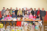 BAZAAR; Some of the crowd that attended the Ballymacelligott Parish Annaul Bazaar, in St Brendan's Community Hall, Ballymacelligott, on Sunday. Front l-r:  Mary Casey, Luke Fitzgerald, Gerry Savage, Judy O'Connor, Maureen Harris, Joan Hannifin, Mike Moriarty and Florence Aherne. Back l-r: Fionnán Fitzgerald, Kathleen Herlihy,Bernard Collins, Denis Moriarty, Fr Pat Crean Lynch, Jerry Cremins, Emily Moriarty,  Niamh Whyte, Shannon Moriarty,Eileen Collins, Billy O'Rourke, Bobby Fitzgerald and Tadgh Kerins. .......