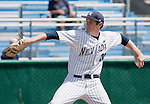 April 28, 2012:   Nevada Wolf Pack starting pitcher Tyler Wells on the mound against the Fresno State Bulldogs during their NCAA baseball game played at Peccole Park on Saturday afternoon in Reno, Nevada.