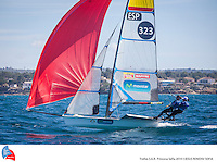 45 TROFEO S.A.R. PRINCESA SOFIA. Palma de Mallorca, Spain. Training session  March 234th