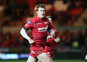 29th September 2017, Parc y Scarlets, Llanelli, Wales; Guinness Pro14 Rugby, Scarlets versus Connacht; Rhys Patchell of Scarlets