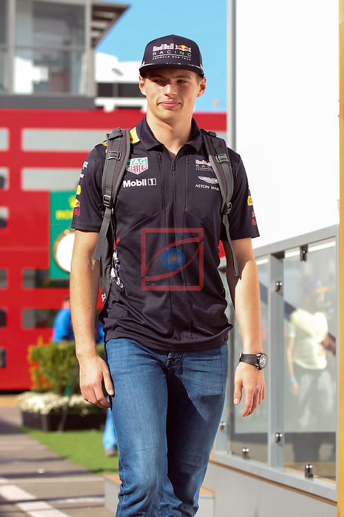 Spanish F1 Grand Prix Pirelli 2017.<br /> Max Verstappen (Red Bull).