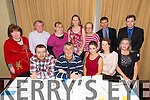 Born to Run Members at the Harriers Gala Dinner Awards Night in the Manor West Hotel on Friday. Pictured front l-r Brian O'Shea, Conor Cusack, Ann Kelleher, Marian Bowler,  Maureen Keenan Back r-l Marcus Howlett, Tommy Horan, Ann O'Shea, Sandra Burn, Marie O'Shea, Con O'Shea, Mary Rael