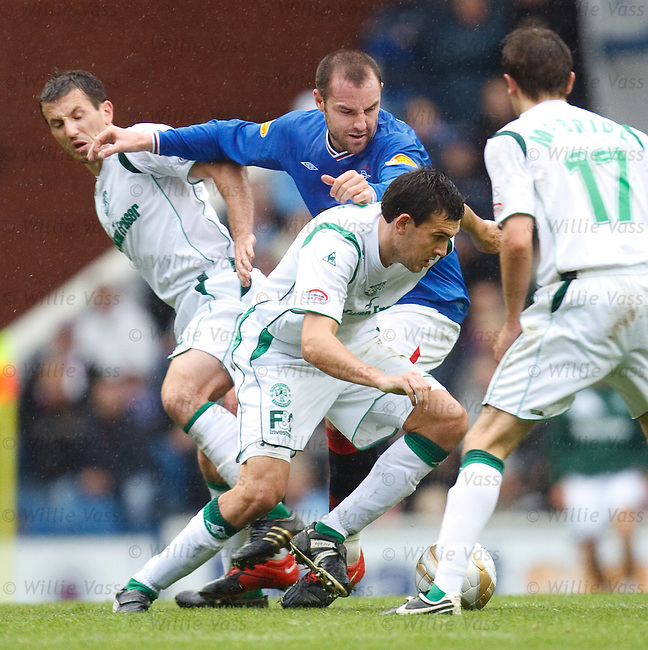 Kris Boyd foiled by Liam Miller and Ian Murray