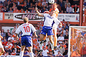 23/09/2000 Football League Division 3 Blackpool v Chesterfield<br /> <br /> 38269 Morrison header<br /> <br /> © Phill Heywood