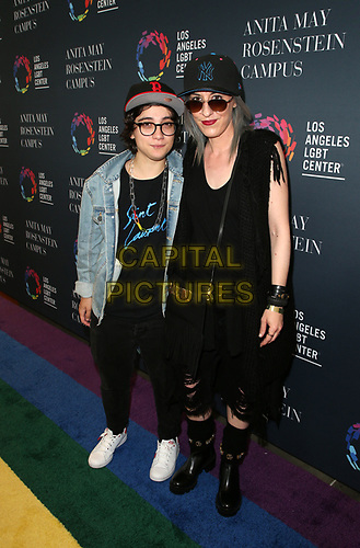 LOS ANGELES, CA -APRIL 7: Jenny McKenna, Ryan Cassata, at Grand Opening Of The Los Angeles LGBT Center's Anita May Rosenstein Campus at Anita May Rosenstein Campus in Los Angeles, California on April 7, 2019.<br /> CAP/MPIFS<br /> ©MPIFS/Capital Pictures