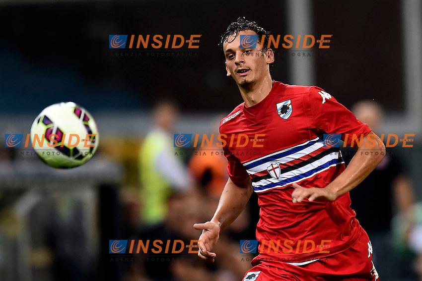 Manolo Gabbiadini <br /> Genova 02-08-2014 Stadio Marassi <br /> Calcio 2014/2015 Sampdoria - Eintracht Francoforte <br /> Foto Matteo Gribaudi / Image/ Insidefoto