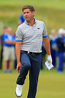 Robert Rock (ENG) on the 18th during Round 4 of the Irish Open at LaHinch Golf Club, LaHinch, Co. Clare on Sunday 7th July 2019.<br /> Picture:  Thos Caffrey / Golffile<br /> <br /> All photos usage must carry mandatory copyright credit (© Golffile | Thos Caffrey)