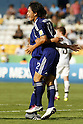 (L-R) Masaya Matsumoto, Fumiya Hayakawa (JPN), JUNE 29, 2011 - Football : Fumiya Hayakawa of Japan celebrates his goal during the 2011 FIFA U-17 World Cup Mexico Round of 16 match between Japan 6-0 New Zealand at Estadio Universitario in Monterrey, Mexico. (Photo by MEXSPORT/AFLO)