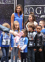 NEW YORK, NY-August 31: Paula Faris at Good Morning America to talk about the   new Star Wars toy line for Rogue One in New York. August 31, 2016. Credit:RW/MediaPunch