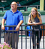 John and Maddie Witte at Delaware Park on 8/24/16