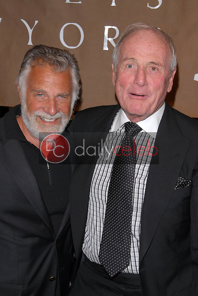"""Jonathan Goldsmith and Jerry Weintraub<br /> at a celebration of Jerry Weintraub's New Book """"When I Stop Talking You'll Know I'm Dead,"""" Barney's New  York, Beverly Hills, CA. 05-18-10<br /> David Edwards/Dailyceleb.com 818-249-4998"""