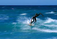 Europe/France/Bretagne/29/Finistère/Pointe de la Torche: Surfeurs