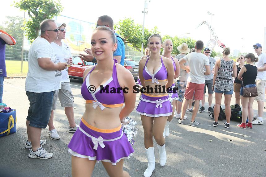 Frankfurt Galaxy Cheerleader - Frankfurt Galaxy vs. Kirchdorf Wildcats, Frankfurter Volksbank Stadion