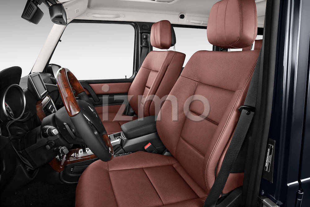 2013 Mercedes-Benz G-Class G550 SUV Front Seat Stock Photo