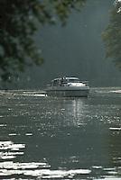 Europe/France/16/Charente/Env de Cognac: Navigation fluviale sur la Charente