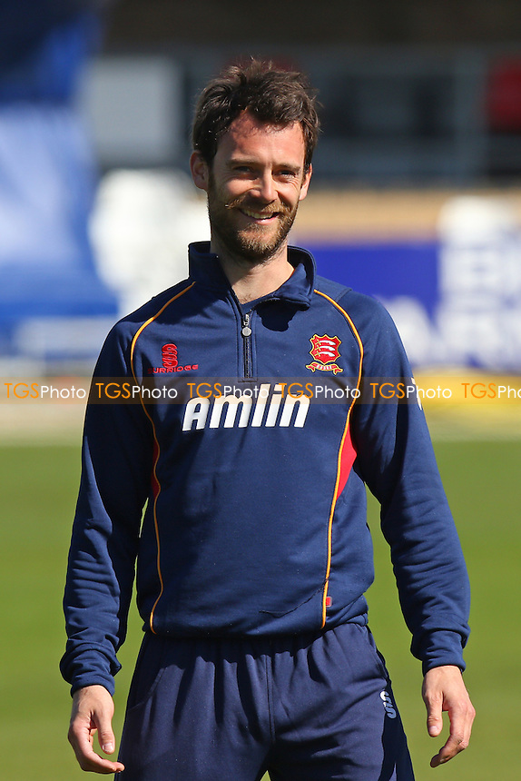 James Foster of Essex CCC - Essex CCC vs Kent CCC - LV County Championship Division Two Cricket at the Essex County Ground, Chelmsford, Essex - 21/04/15 - MANDATORY CREDIT: TGSPHOTO - Self billing applies where appropriate - contact@tgsphoto.co.uk - NO UNPAID USE