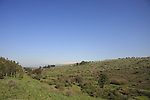 Israel,a view from the crusader Ateret Fortress (Vadum Iacob) by the Jordan River