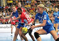 30.10.2013 Handball Bundesliga Frauen - HC Leipzig vs. THC @ Arena Leipzig