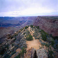 Grand Canyon National Park, Arizona, USA - Scenic View from South Rim, overlooking Colorado River in Grand Canyon