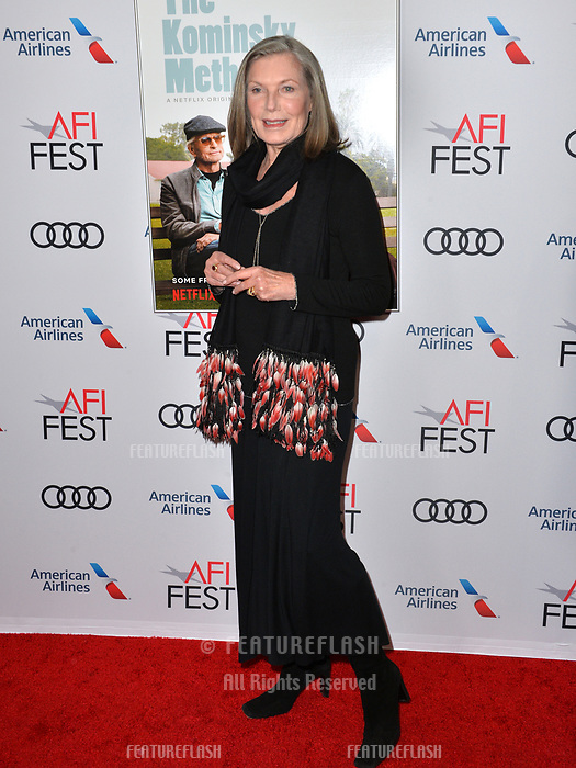 LOS ANGELES, CA. November 10, 2018: Susan Sullivan at the AFI Fest 2018 world premiere of &quot;The Kominsky Method&quot; at the TCL Chinese Theatre.<br /> Picture: Paul Smith/Featureflash