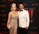 """Robyn Hurder and Ricky Rojas attends the Broadway Opening Night performance After Party for """"Moulin Rouge! The Musical"""" at the Hammerstein Ballroom on July 25, 2019 in New York City."""