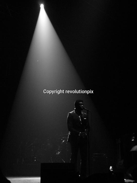 Corneille<br /> Paris<br /> January 13 2010<br /> Singer Corneille on stage at the Grand Rex in Paris<br /> ID revpix100113823