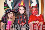 THE WITCHING HOUR: Some of the children enjoying the Halloween Party at the Maine Valley Family Centre on Friday were l-r: Ciara Deane Hughes, Kerry Lynch and Ellen Sugrue.