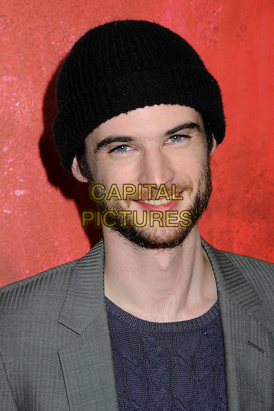 """TOM STURRIDGE .""""Waiting For Forever"""" Los Angeles Premiere held at Pacific Theatres at The Grove, Los Angeles, California, USA, .1st February 2011..portrait headshot grey gray blue black hat beanie beard facial hair .CAP/ADM/BP.©Byron Purvis/AdMedia/Capital Pictures."""