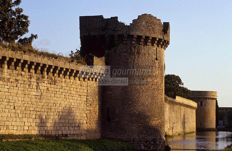Europe/France/Pays de la Loire/44/Loire-Atlantique/Guérande : Les remparts