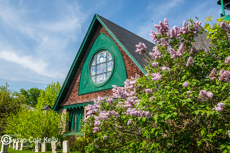 St. Saviours Episcopal Church in Bar Harbor, Maine, USA